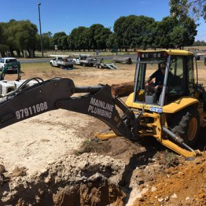 Front End Loader Mainline Plumbing and Cheap Hot Water and Gas Bunbury