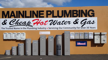 Hot Water by Mainline Plumbing and Cheap Hot Water and Gas Bunbury