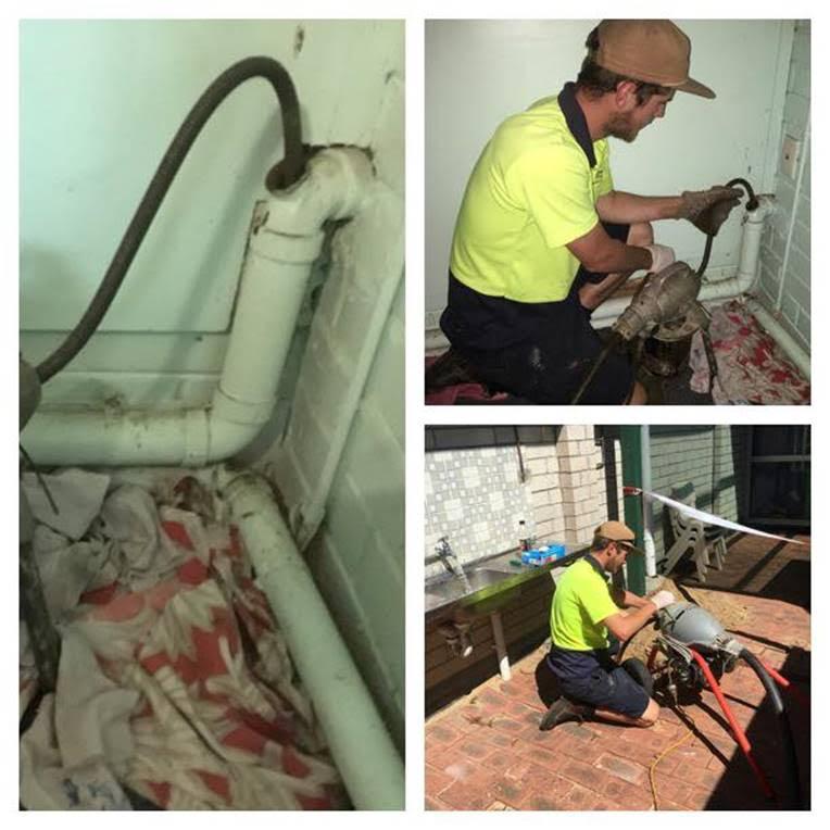 Mainline Plumbing in action