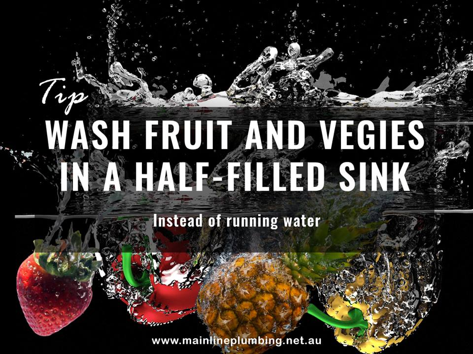 Wash fruits