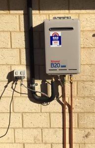 Hot water installer