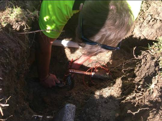 Water pipe repair
