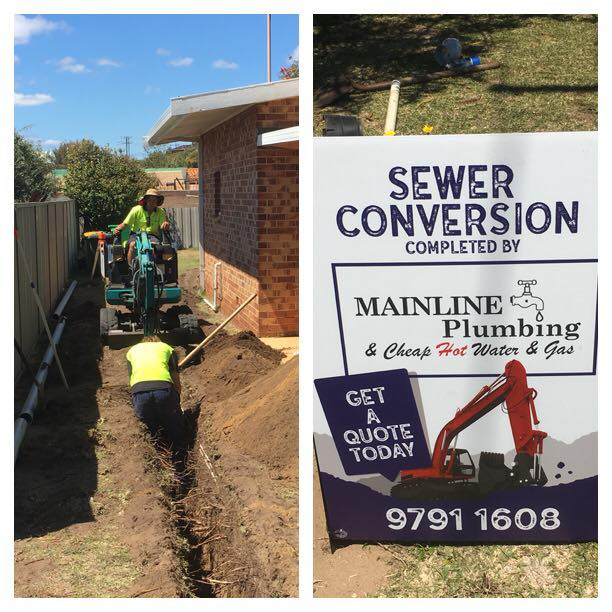 Sewerage conversion